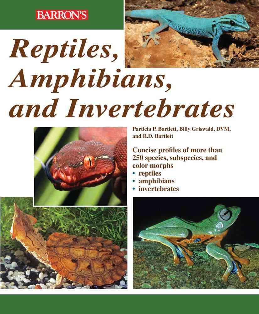 Reptiles, Amphibians, and Invertebrates By Bartlett, R. D./ Bartlett, Patricia/ Griswold, Billy